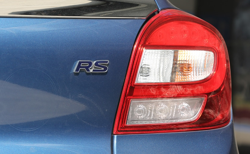 maruti suzuki baleno rs badge