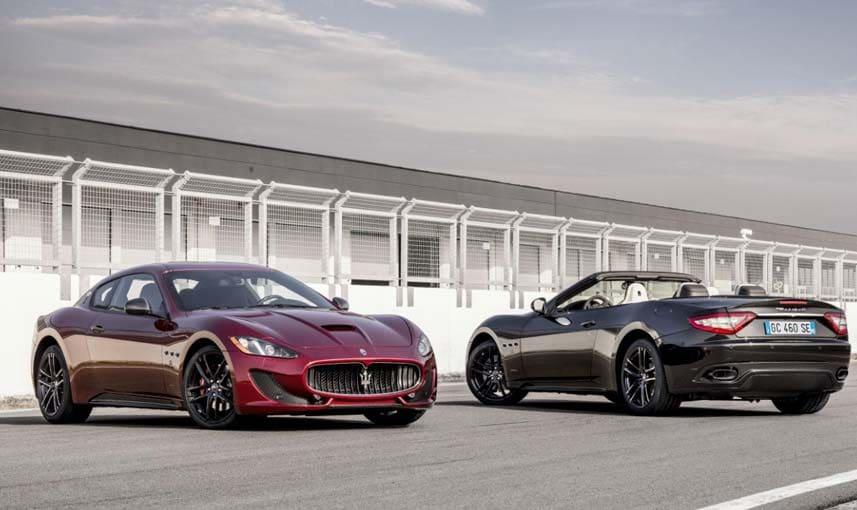 The Maserati GranTurismo and GranCabrio will be the brand's first electric vehicle.