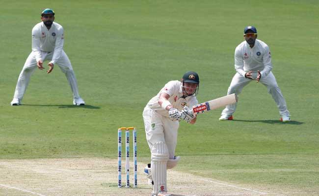 INDvsAUS:ऑस्ट्रेलिया के मैट रेनशॉ और शॉन मार्श के अर्धशतक, बेंगलुरू में भी मुश्किल में टीम इंडिया...
