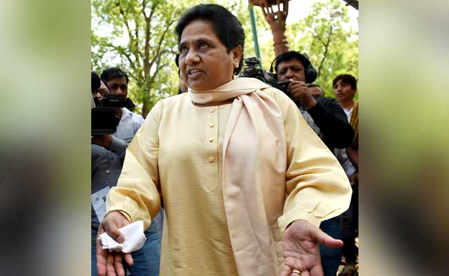 BSP Chief Mayawati To Move Court This Week Against EVM 'Tampering' In UP Polls