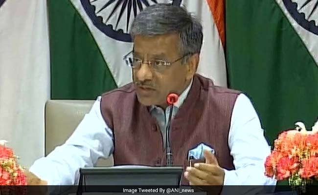 Foreign Ministry Spokesperson Gopal Baglay Appointed PMO Joint Secretary