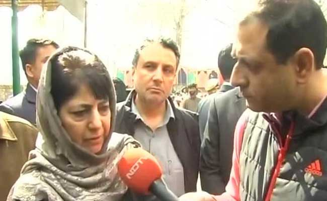 As 3 Die In Police Action In Kashmir, Mehbooba Mufti's Appeal To Parents