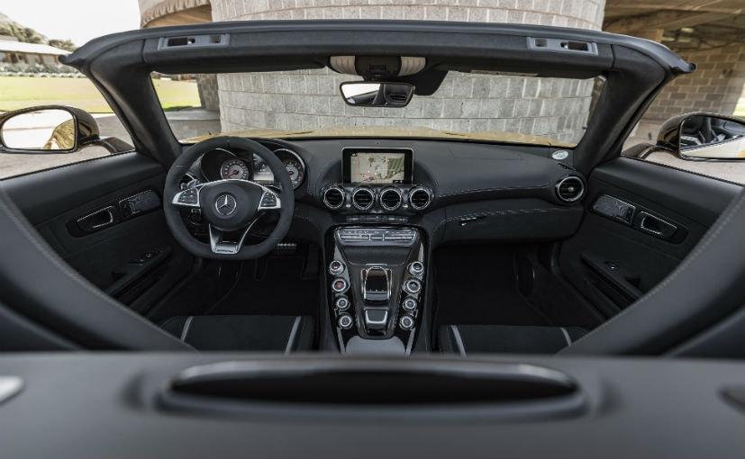 mercedes amg gt c roadster interior