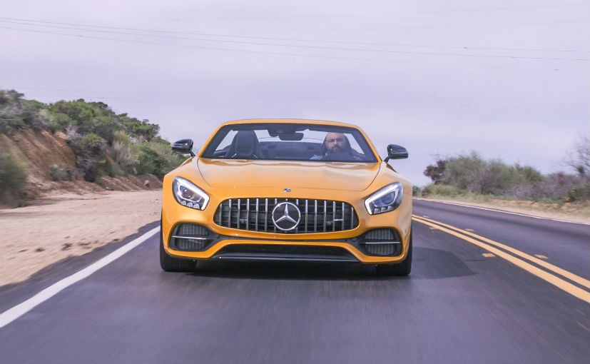 Mercedes-AMG GT C Convertible First Drive