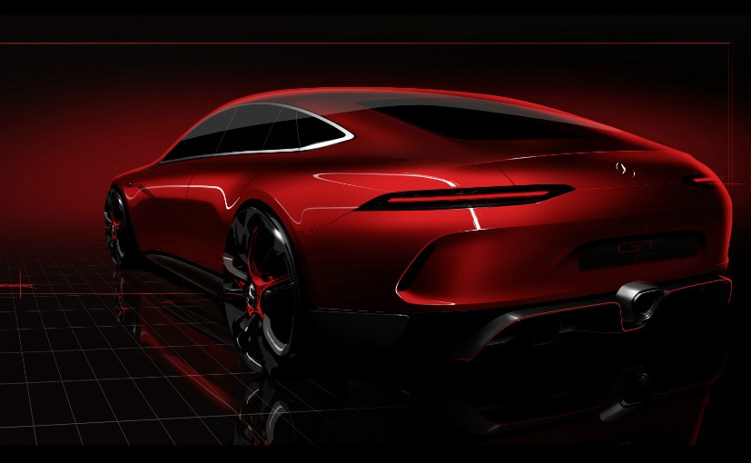 Mercedes-AMG Teases The AMG GT4 Concept Ahead Of Geneva Debut