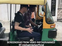 India vs Australia: Michael Clarke's Tryst With 'Tuk Tuk' In Bengaluru
