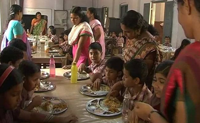 Mid-Day Meals From Cenralised Kitchen In Odisha