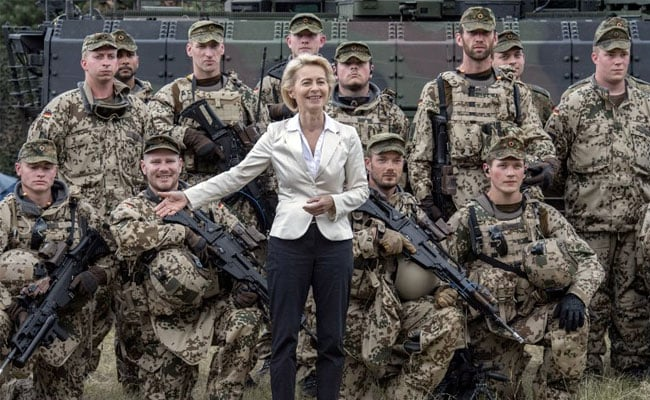military german defence minister afp