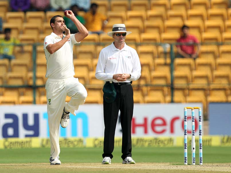 Mitchell Starc Takes Aim At R Ashwin's Helmet