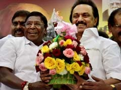 On 65th Birthday, MK Stalin Gets A Bull As Gift For 'His Efforts For Jallikattu'