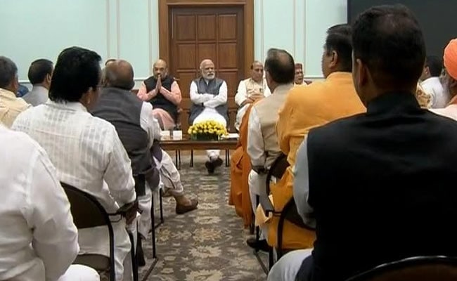 Prime Minister Narendra Modi to meet Gujarat MPs today