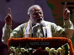 अभिनंदन समारोह  : पीएम नरेंद्र मोदी ने दिखाया 'न्यू इंडिया' का सपना, 2022 के लिए मांगा आशीर्वाद