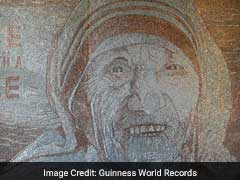Over 1.5 Million Staples Used To Create This Portrait Of Mother Teresa