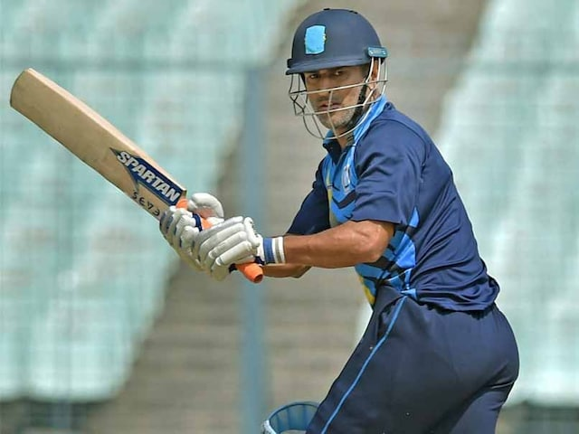 Vijay Hazare Trophy: MS Dhoni Takes Jharkhand Into Semi-Finals With A Six