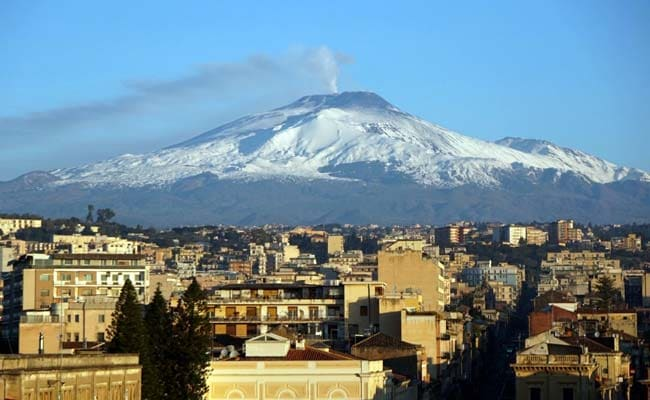 After Year Of Calm, Mt Etna Bursts Into Life
