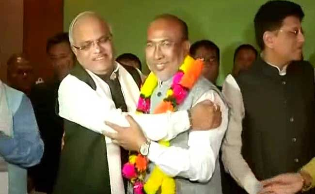 N Biren Singh Named By BJP As Chief Minister-Designate Of Manipur