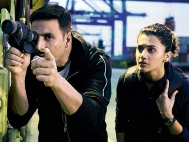 Why Akshay Has Lesser Portions Than Taapsee In Naam Shabana