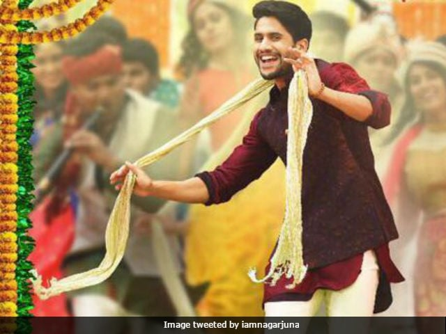 Rarandoi Vedukachudham: Nagarjuna Shares First Poster Of Son Naga Chaitanya's Film
