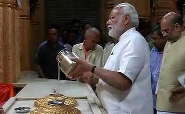 पीएम नरेंद्र मोदी ने सलाह दी, सोमनाथ मंदिर की साजसज्जा और बढ़ाई जाए...