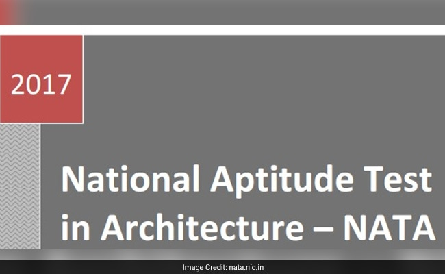 NATA 2017: Download Admit Cards From March 28