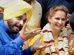 Bikram Singh Majithia Demands FIR Against Navjot Singh Sidhu And His Wife