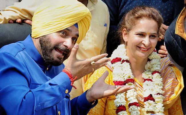 Bikram Singh Majithia Demands FIR Against Navjot Singh Sidhu And His Wife