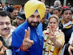 Punjab Election Results 2017: Why Arvind Kejriwal Lost, According To Navjot Singh Sidhu, Celebrating Victory