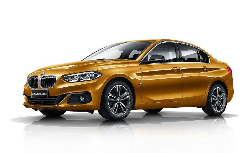 new bmw 1 series sedan will be made in chennai