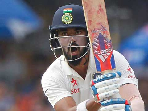 4th Test, Dharamsala: India 153/2 in 60 overs (Pujara 53*, Rahul 60), trail Australia (300) by 147 runs at tea on Day 2