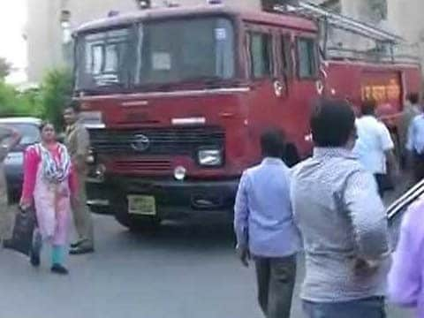 Fire breaks out at Lucknow Secretariat, fire engines at spot