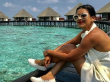 Trending: Nia Sharma Is Beating The Summer Heat In Maldives. See Pics And Videos