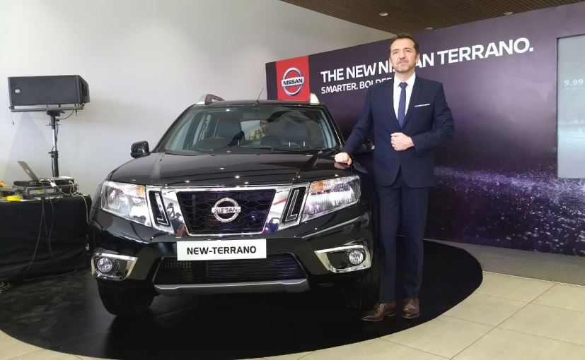 2017 Nissan Terrano Facelift Launched; Prices Start At Rs. 9.99 Lakh