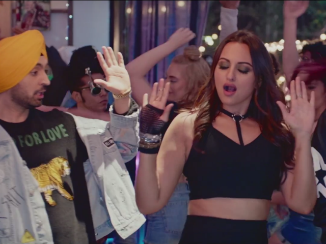 noor sonakshi sinha diljit dosanjh and badshah s new song will