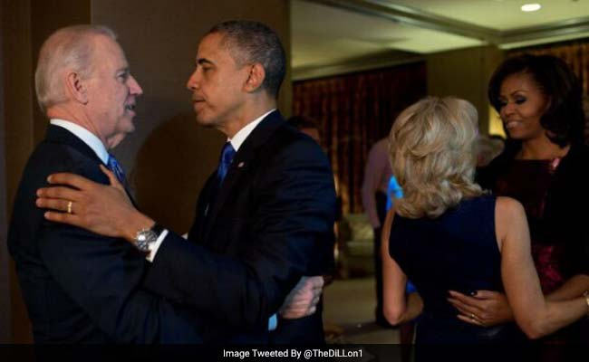 Joe Biden Has Seen Those Obama Bromance Memes And He Has A Favorite One
