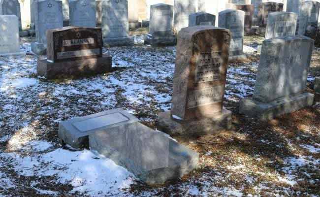 Overturned New York Headstones Not Vandalism: Police