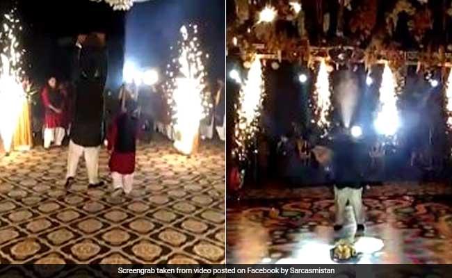 Viral: पाकिस्तानी दूल्हे ने शादी में मारी ऐसी एंट्री, सब रह गए हैरान