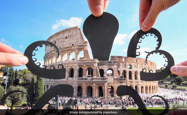 Artist Turns Ordinary Scenes Into Extraordinary Ones With Paper Cutouts