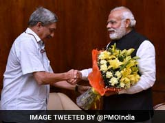 """Manohar Parrikar Is The Architect Of Modern Goa, I Salute Him"": PM Modi"