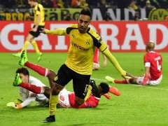 Aubameyang Hat-Trick Fires Dortmund Into Champions League Quarters