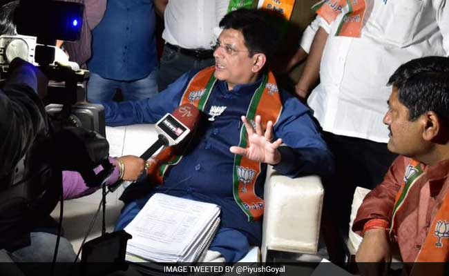 When A Power Cut Was Perfectly Timed For Power Minister Piyush Goyal