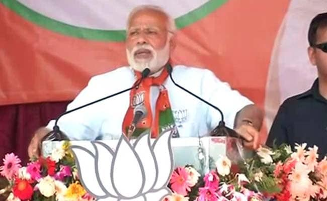 Prime Minister Narendra Modi's Speech At A Rally In Khushipur: Highlights