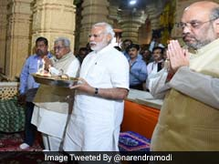 As Varanasi Votes, PM Narendra Modi Is Back Home In Gujarat After Hectic UP Campaign