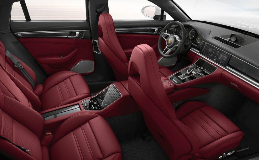 porsche panamera turbo s e hybrid cabin