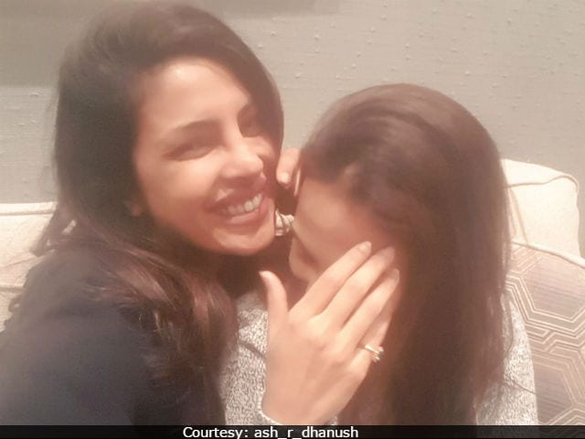 Priyanka Chopra Says She 'Loved' Meeting Aishwaryaa Dhanush