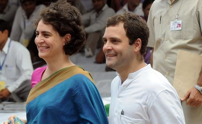 Man Faces Case For 'Derogatory' Post On Rahul Gandhi, Priyanka Vadra