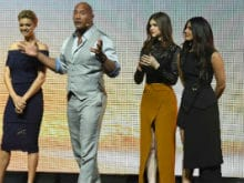 Priyanka Chopra And The Entire Cast Of <i>Baywatch</i> Take Over Las Vegas During Film Promotions