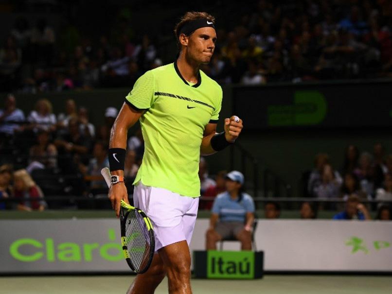 Miami Open: Rafael Nadal On Track For Roger Federer Showdown