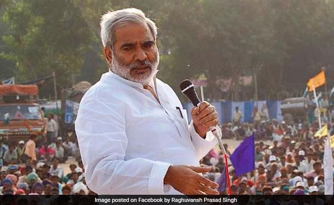 राजद नेता रघुवंश प्रसाद सिंह ने दिया विवादित बयान, जेडीयू-बीजेपी पर निशाना साधा