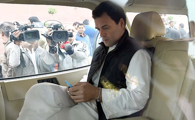 Explanation Of 'Pappu' On WhatsApp Rejected By Congress, Leader Punished