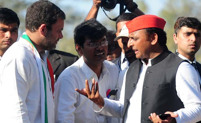 How Rahul Gandhi's hands punctured Akhilesh Yadav's cycle in UP
